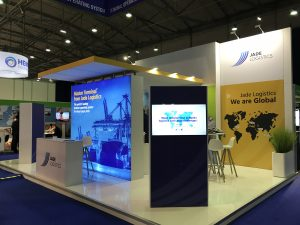 Jade Logistics Booth at TOC Europe 2018