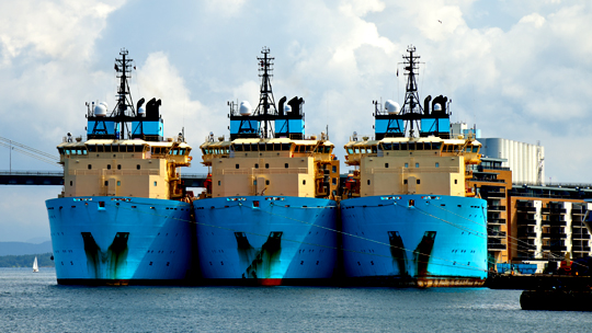 Three boats lined up at port MTAGOB White paper